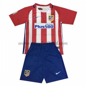 Atletico Madrid Børn Fodboldtrøjer 2016-17 Hjemmetrøje