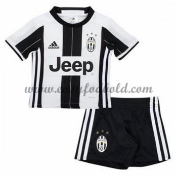 Juventus Børn Fodboldtrøjer 2016-17 Hjemmetrøje