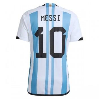 Fodboldtrøjer VM 2018 Argentina Lionel Messi 10 Hjemmebanetrøjer