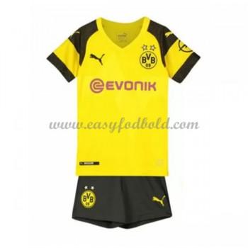 BVB Borussia Dortmund Børn Fodboldtrøjer 2018-19 Hjemmetrøje