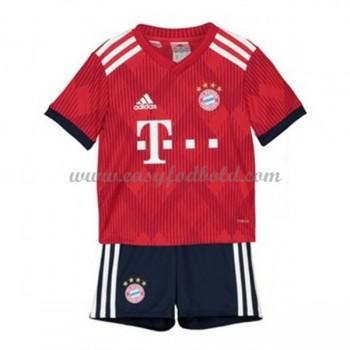 Bayern München Børn Fodboldtrøjer 2018-19 Hjemmetrøje