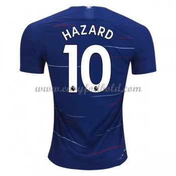 Fodboldtrøjer Premier League Chelsea 2018-19 Eden Hazard 10 Hjemmetrøje