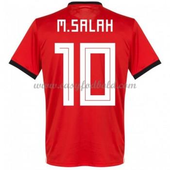 Fodboldtrøjer VM 2018 Egypten Mohamed Salah 14 Hjemmebanetrøjer