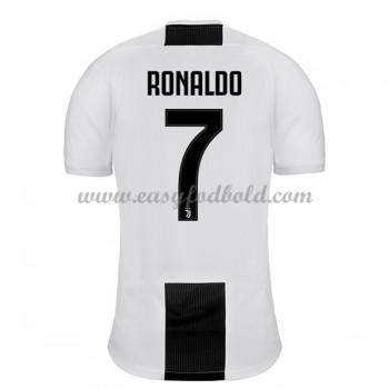 Fodboldtrøjer Series A Juventus 2018-19 Cristiano Ronaldo 7 Hjemmetrøje