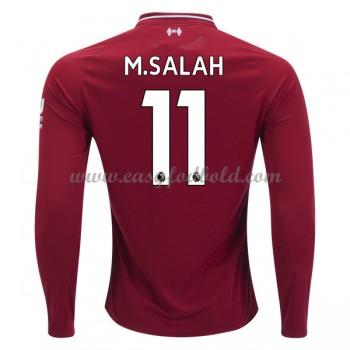 Fodboldtrøjer Premier League Liverpool 2018-19 Mohamed Salah 11 Hjemmetrøje Langærmede