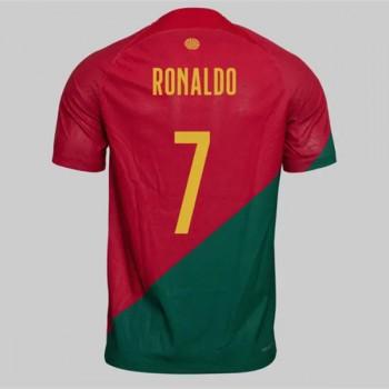Fodboldtrøjer VM 2018 Portugal Cristiano Ronaldo 7 Hjemmebanetrøjer