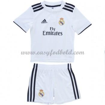 Real Madrid Børn Fodboldtrøjer 2018-19 Hjemmetrøje